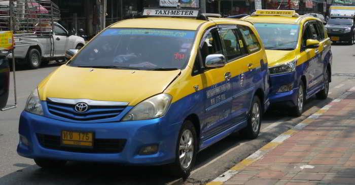 taxi meter, Pattaya Thailand
