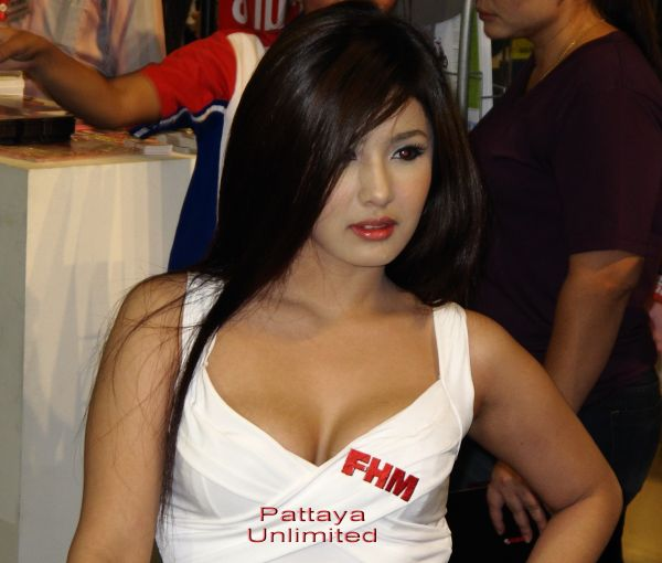 Beautiful F.H.M. Thailand girl
