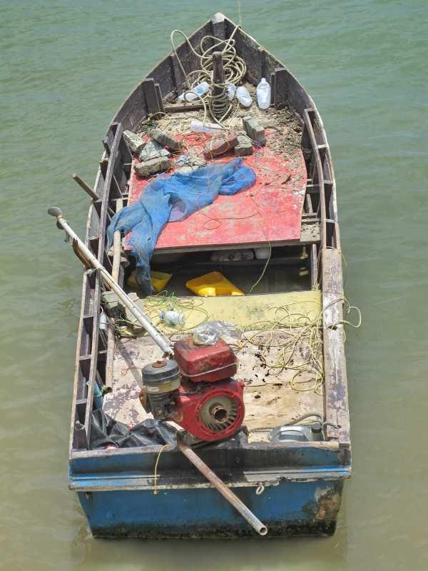 Longtail boat Bali Hai, Pattaya Thailand