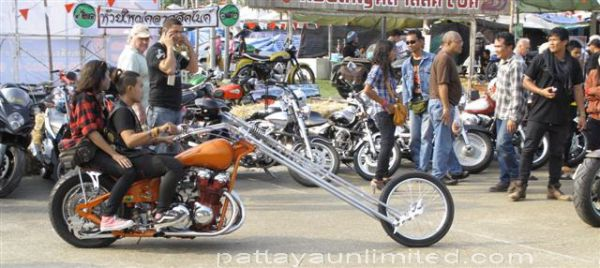 Bike week Pattaya Thailand