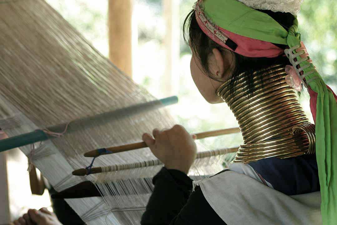Thai hilltribe woman.