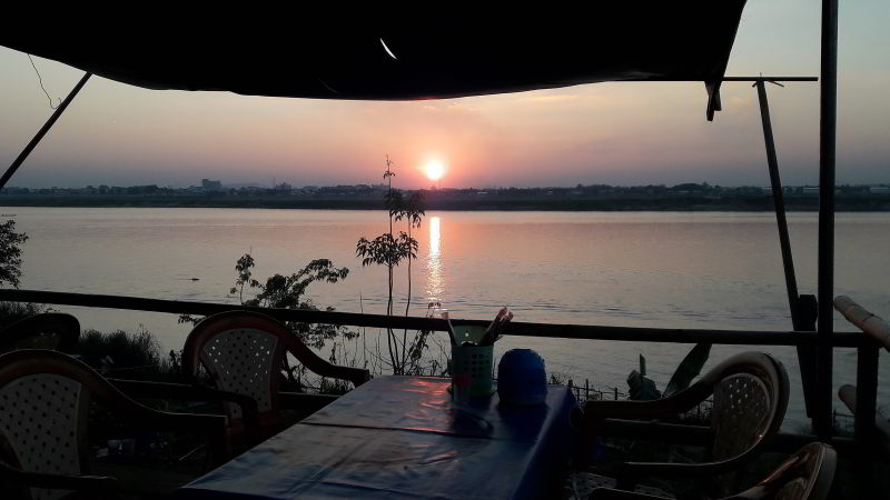 Mekong river Savannakhet