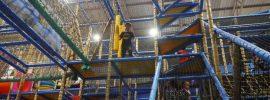 children's indoor adventure playground in Pattaya Thailand