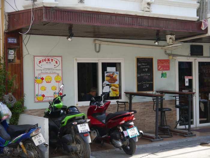 restaurant on Soi Buakhao, Pattaya