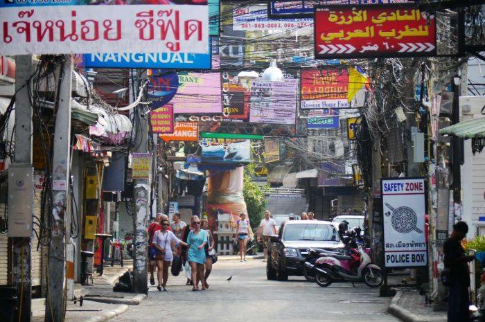 Walking Street, Pattaya during the daytime
